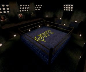 One of the secret levels from Quake for the Sega Saturn.
